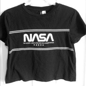 H&M NASA crop top